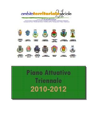 Piano Attuativo Triennale 2010 - 2012