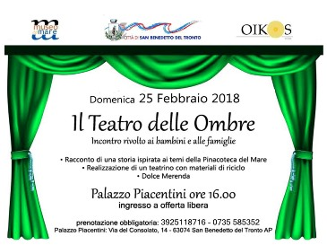"""Locandina """"Il Teatro delle Ombre"""""""