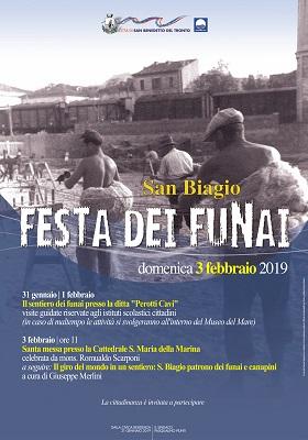 Locandina della Festa dei Funai 2019
